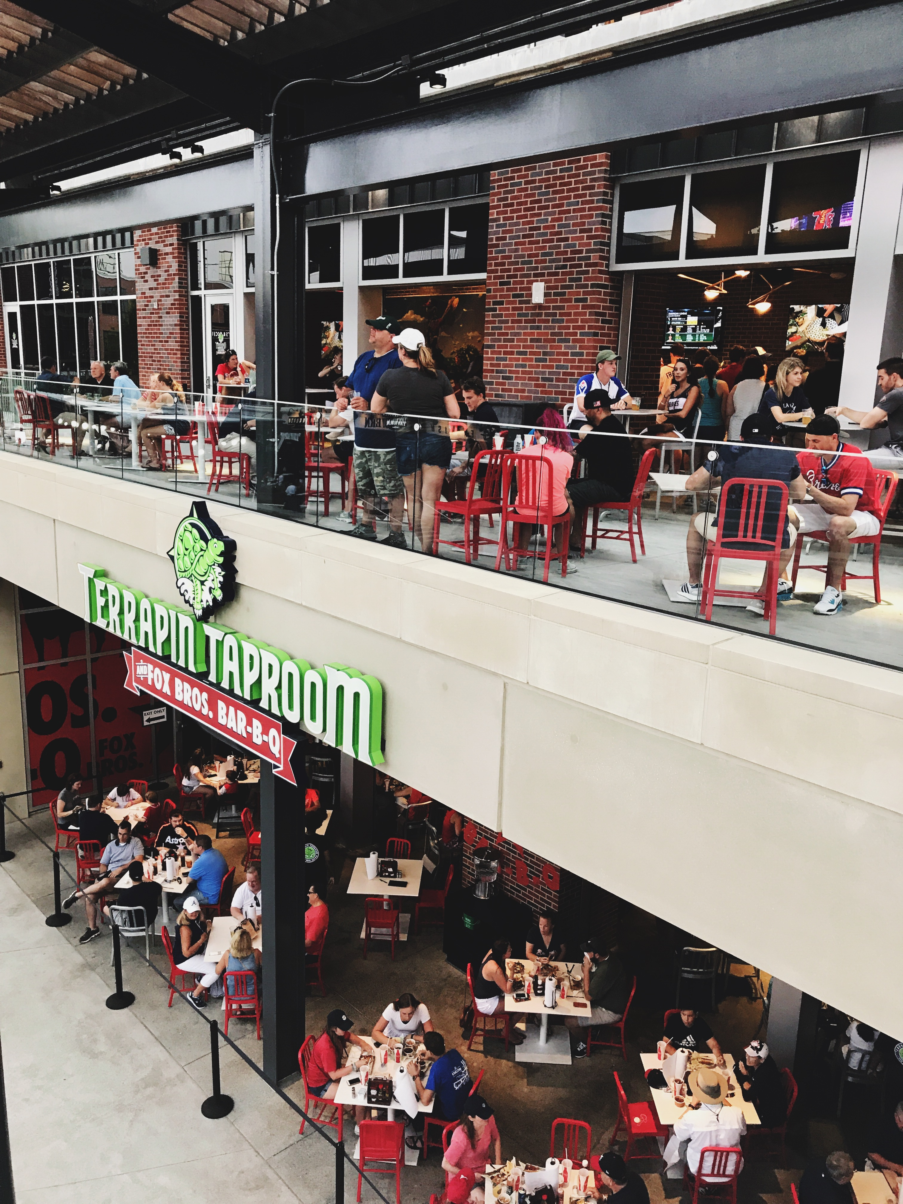 the latest 7e0f8 1dd63 Atlanta Braves Game - Things to do at SunTrust Park