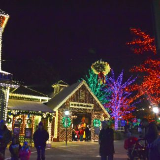 5 Local Holiday Light Shows